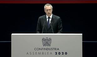 """Assemblea di Confindustria, Bonomi: """"Se Recovery Fund fallisce andiamo a casa tutti"""""""