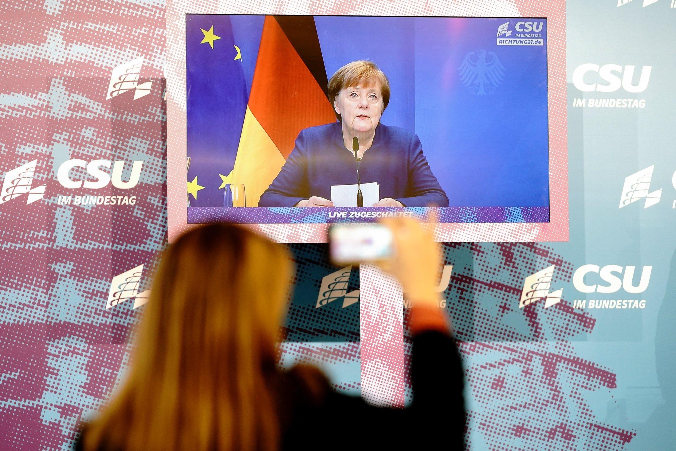Germany chooses potential successor to Merkel